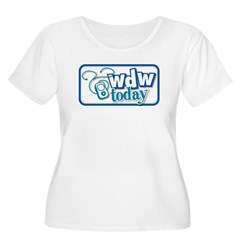 WDW Today Women's Plus Size Scoop Neck T-Shirt