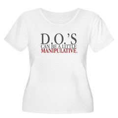DO's can be a little manipula Women's Plus Size Scoop Neck T-Shirt