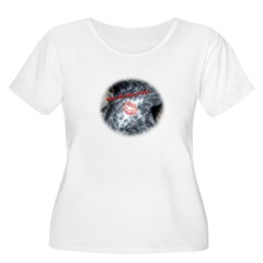 Kiss My Bentley! Women's Plus Size Scoop Neck T-Shirt