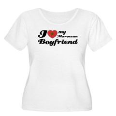 Moroccan Boy friend Women's Plus Size Scoop Neck T-Shirt
