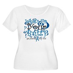 What's Up Your Butt? Women's Plus Size Scoop Neck T-Shirt
