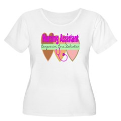 Nursing Assistant Women's Plus Size Scoop Neck T-Shirt