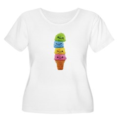 Untitled-1 Women's Plus Size Scoop Neck T-Shirt