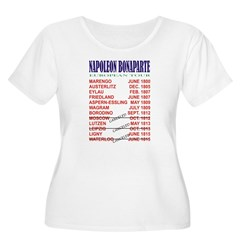 Napoleon_Tour Women's Plus Size Scoop Neck T-Shirt