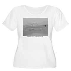 Wright Bros at Kitty Hawk 190 Women's Plus Size Scoop Neck T-Shirt