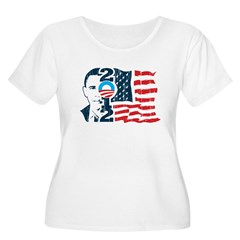 Barack Obama Women's Plus Size Scoop Neck T-Shirt
