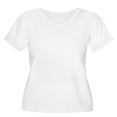 OUR FIRST CHRISTMAS 2011 Women's Plus Size Scoop Neck T-Shirt