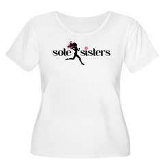 SS basic logo.png Women's Plus Size Scoop Neck T-Shirt