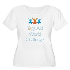 Yoga Aid World Challenge MILFORD Women's Plus Size Scoop Neck T-Shirt