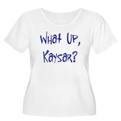 What Up Kaysar? Women's Plus Size Scoop Neck T-Shirt