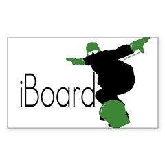 iBoard Rectangle Sticker (Rectangle 10 pk)