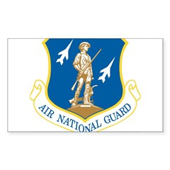 Air National Guard Rectangle Sticker (Rectangle 10 pk)