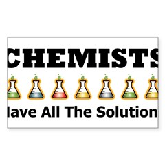All the Solutions Rectangle Sticker (Rectangle 10 pk)