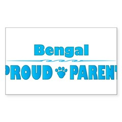 Bengal Parent Rectangle Sticker (Rectangle 10 pk)