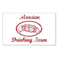 Murcian Drinking Team Sticker (Rectangle 10 pk)
