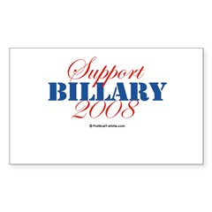 2008 Election Candidates Rectangle Sticker (Rectangle 10 pk)