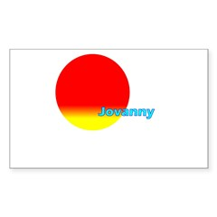 Jovanny Rectangle Sticker (Rectangle 10 pk)