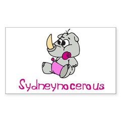 Sydneynocerous Rectangle Sticker (Rectangle 10 pk)