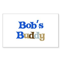 Bob's Buddy Sticker (Rectangle 10 pk)