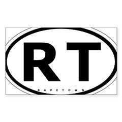 cmon down to paretown Sticker (Rectangle 10 pk)