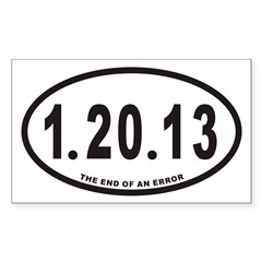 1.20.13 Euro Oval Sticker (Rectangle 10 pk)
