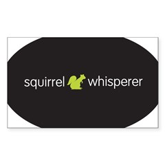 Squirrel Whisperer Sticker (Rectangle 10 pk)