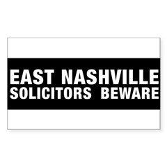 Solicitors beware Sticker (Rectangle 10 pk)