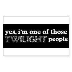 twi ppl Sticker (Rectangle 10 pk)
