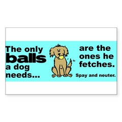 Neuter Support Sticker (Rectangle 10 pk)