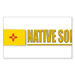 New Mexico Native Son Sticker (Rectangle 10 pk)