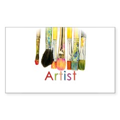 ACEO Art Sticker (Rectangle 10 pk)