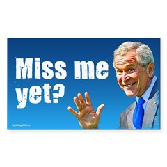 Miss Me Yet? Rectangle Sticker (Rectangle 10 pk)