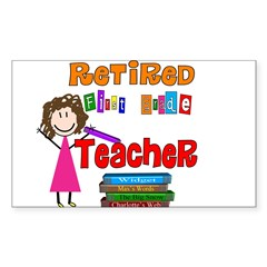 Elementary Sticker (Rectangle 10 pk)