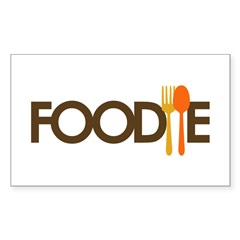 Foodie Sticker (Rectangle 10 pk)
