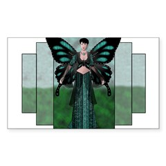 Etégina the Night Fairy Rectangle Sticker (Rectangle 10 pk)