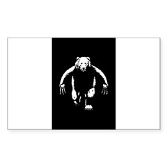 Bearman! Sticker (Rectangle 10 pk)