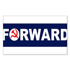 AmerikaForward Sticker (Rectangle 10 pk)