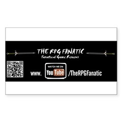RPG Fanatic Bumper Sticker (single) Sticker (Rectangle 10 pk)