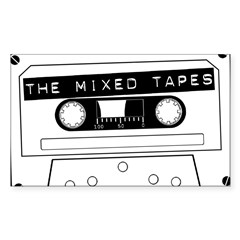 Tape Sticker (Rectangle 10 pk)