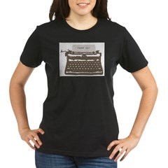 Typewriter Organic Women's T-Shirt (dark)