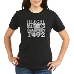 1492 Organic Women's T-Shirt (dark)
