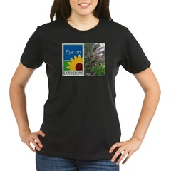 Eye on Gardening Tropical Plants Organic Women's T-Shirt (dark)