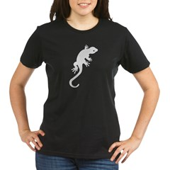 Gecko Icon Organic Women's T-Shirt (dark)