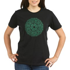 Celtic Circle Organic Women's T-Shirt (dark)