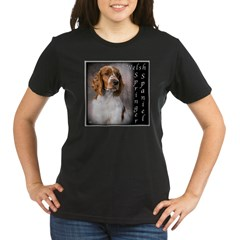 Welsh Springer Spaniel Organic Women's T-Shirt (dark)