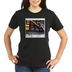 ACCOUNTAN Organic Women's T-Shirt (dark)