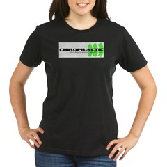 green Organic Women's T-Shirt (dark)