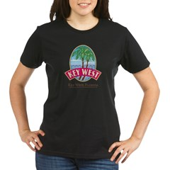 Retro Key West - Organic Women's T-Shirt (dark)
