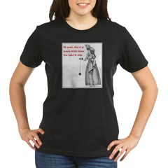Suffering Suffragette Organic Women's T-Shirt (dark)