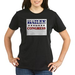 HAILEE for congress Organic Women's T-Shirt (dark)